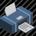 copy, isometric, printer, scanner, technology