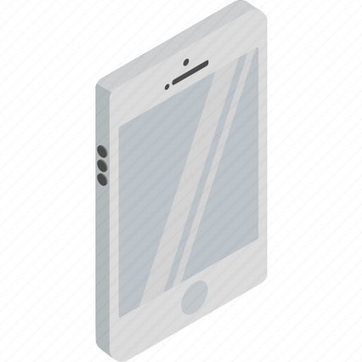 call, iphone, isometric, phone, technology icon