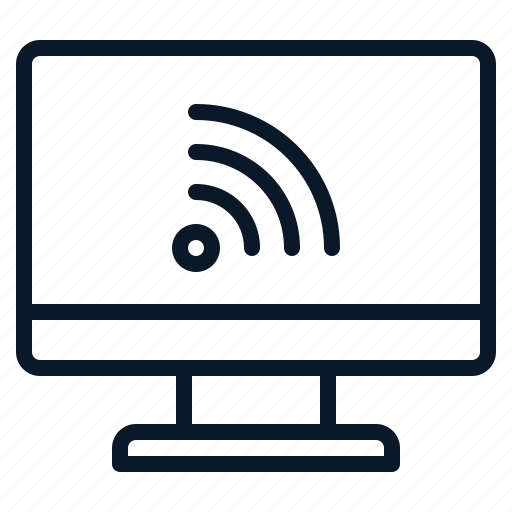 computer, conectifity, network, technology, wifi icon