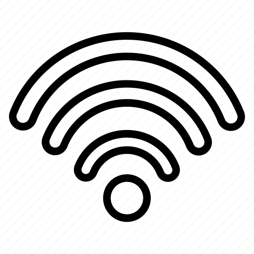computer, device, electronic, fi, technology, wi, wifi icon