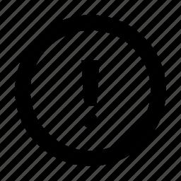 alart, circle, error, warning icon