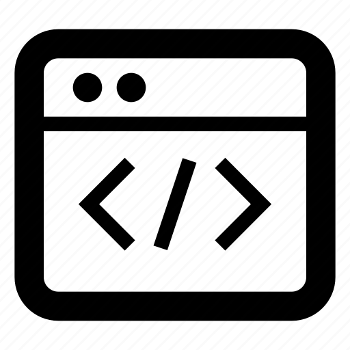 code, development icon