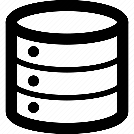 database, development, network, storage, website icon