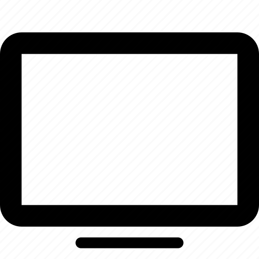 device, monitor, tv icon