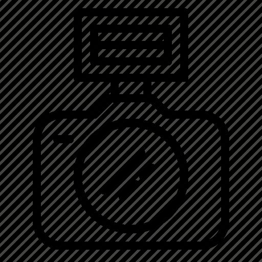camera, dslr, flash, lens, photo, photography, technology icon
