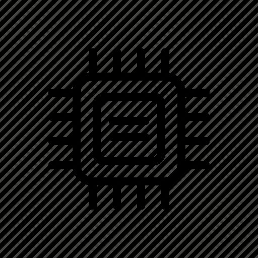 amd, core, intel, processor, technology icon