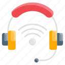 headphone, headset, technology, wireless