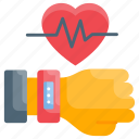 bracelet, fitness, band, fitbit, gadget icon