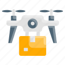 delivery, drone, medical, packaging, vehicle icon