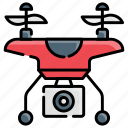 delivery, drone, photography, robot, surveillance icon