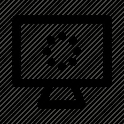 desktop, device, display, monitor, screen icon