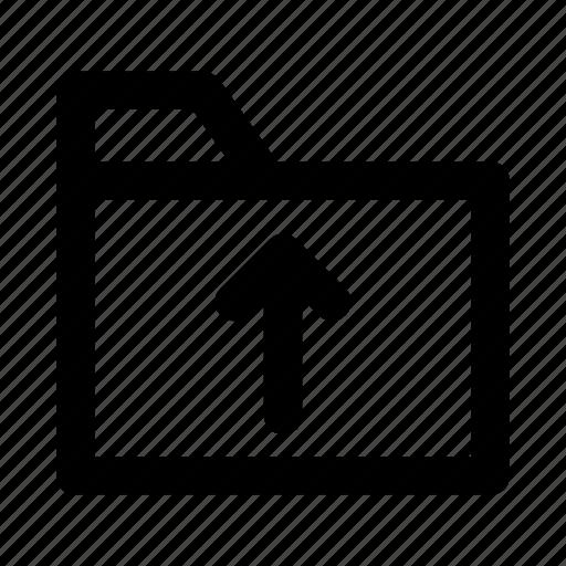 data, directory, folder, records, upload icon