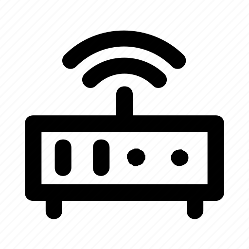 device, gadget, modem, router, wireless icon