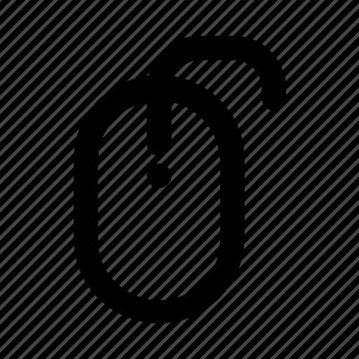click, cursor, device, mouse, pointer icon
