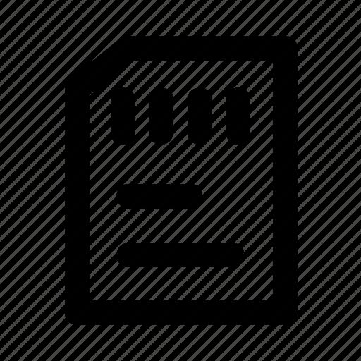 card, floppy, micro, sd, sim icon