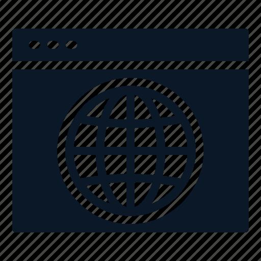 Dasboard, data, network, desktop icon