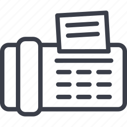communication, connection, fax, phone, technology, telephone icon