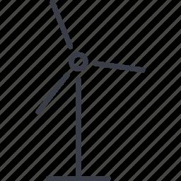 technology, windmill icon