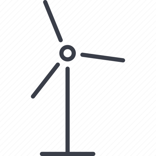 technology, windmill icon