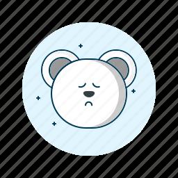 emoji, emoticons, face, sad, smiley, unhappy icon