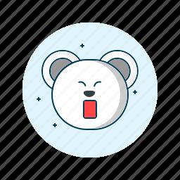 emoji, emoticon, emoticons, face, sleep, sleepy, smiley icon