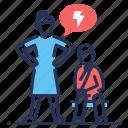 family problem, psychological abuse, quarrel, relationship