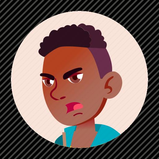 avatar, boy, emotion, expression, school, teen icon