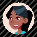 african, avatar, black, girl, people, school, teen icon