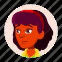avatar, expression, girl, hindu, indian, teen