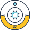 computer, cpy, tehnology, vc icon