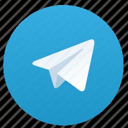 blue, logo, logotype, round, telegram icon