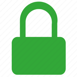 green, lock, safety, security, telegram icon