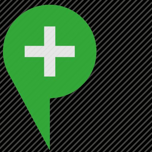 green, plus, pointer, telegram, ui icon