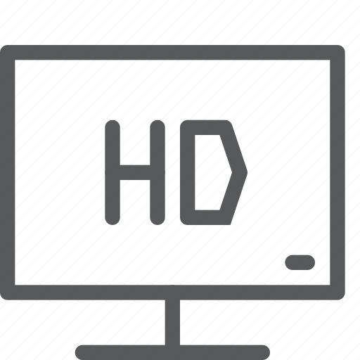 entertainment, film, hd, movie, television, tv, video, watch icon