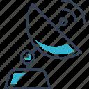 fi, satellite, signal, television, wi icon