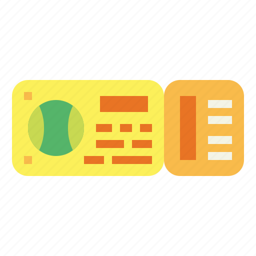 Entertainment, pass, show, ticket icon - Download on Iconfinder