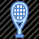 equipment, racquet, sport, tennis icon