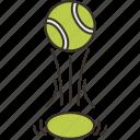 bounce, tennis, ball, sport, game