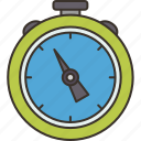 chronometer, stopwatch, timer, counting, minute