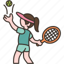 match, point, tennis, game, competition