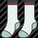 socks, footwear, cotton, apparel, clothing