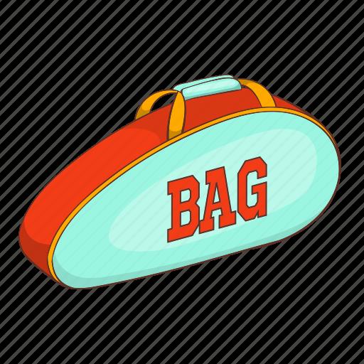 Bag, cartoon, sign, store, straps, tennis, wear icon - Download on Iconfinder
