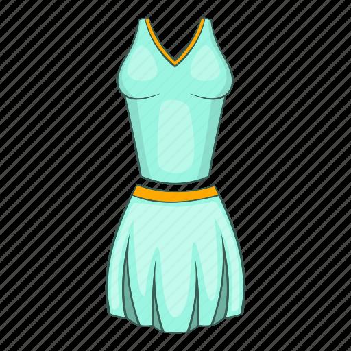 cartoon, cloth, female, form, sign, t-shirt, tennis icon