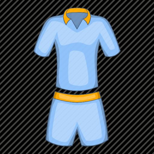 cartoon, men, shorts, sign, t-shirt, tennis, uniforms icon