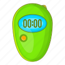 cartoon, minute, second, sign, stopwatch, timer, watch icon