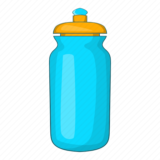 cartoon, clean, container, drink, flask, sign, water icon
