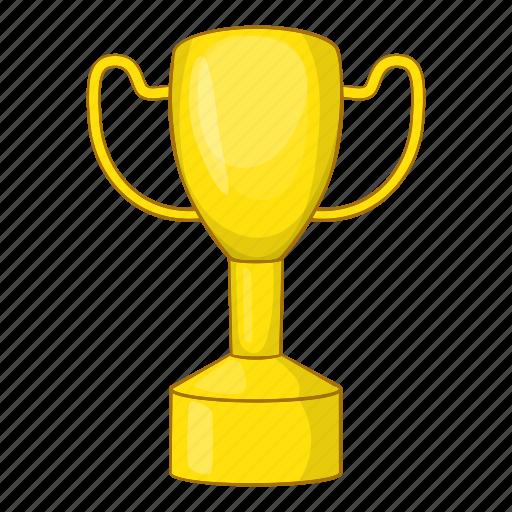 Cartoon, cup, gold, reward, sign, success, winner icon - Download on Iconfinder