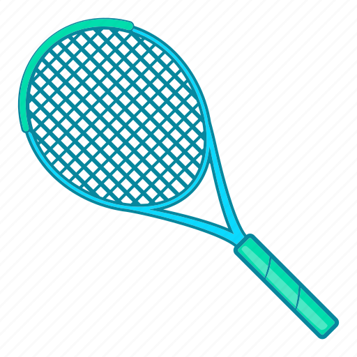 cartoon, game, play, racket, sign, sport, tennis icon