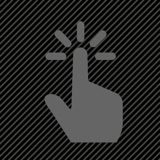 press, screen, sensor, tap, technology, touch, touchscreen icon
