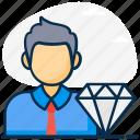 customer, customer loyalty, customer quality, customer value, lifetime value, premium customer, value icon